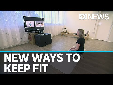 Fitness Industry Hit As Coronavirus Drives Trainers To Get Creative   ABC News