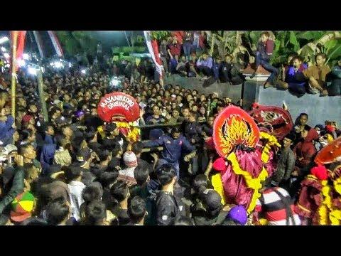 Rampokan Singo Barong Jaranan Mayangkoro Original Live Sonoageng 2018