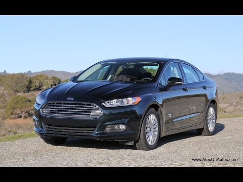 2014 Ford Fusion Energi Plug In Hybrid Review and Road Test