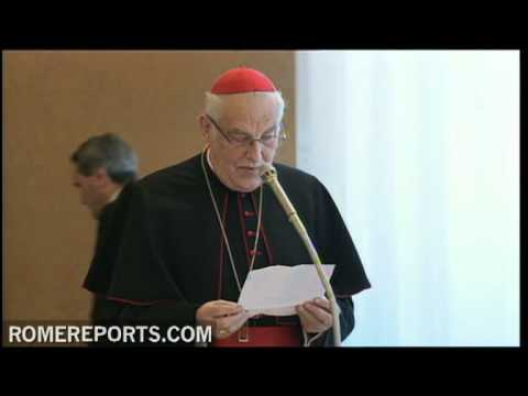 Pope meets with the Congregation for Catholic Education
