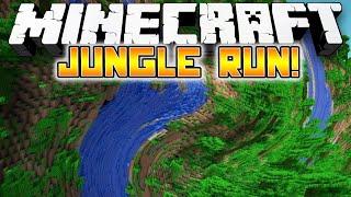 Minecraft: TWISTED JUNGLE RUN PARKOUR! - w/Preston, Jerome & Vaecon!