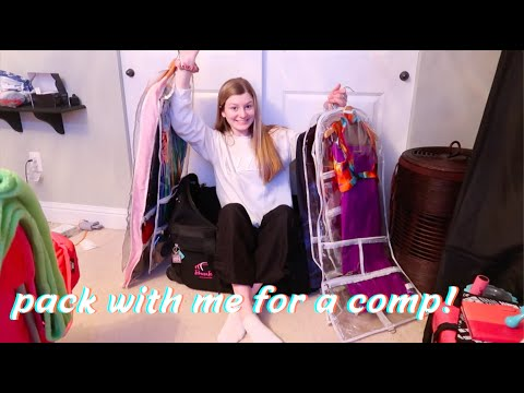 Pack With Me For A Dance Competition!