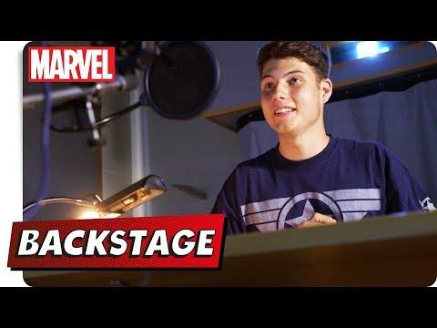 Jonah BACKSTAGE - Jonah als Synchronsprecher | NEU auf Marvel HQ Deutschland