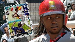 DIAMOND HANLEY RAMIREZ DEBUT!! MLB THE SHOW 18 DIAMOND DYNASTY