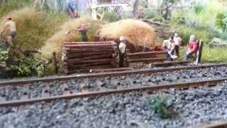 بناء نموذج واقعي القطار الديوراما / Modelleisenbahn هو الديوراما / BR 103