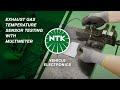 Exhaust Gas Temperature Sensor testing with Multimeter