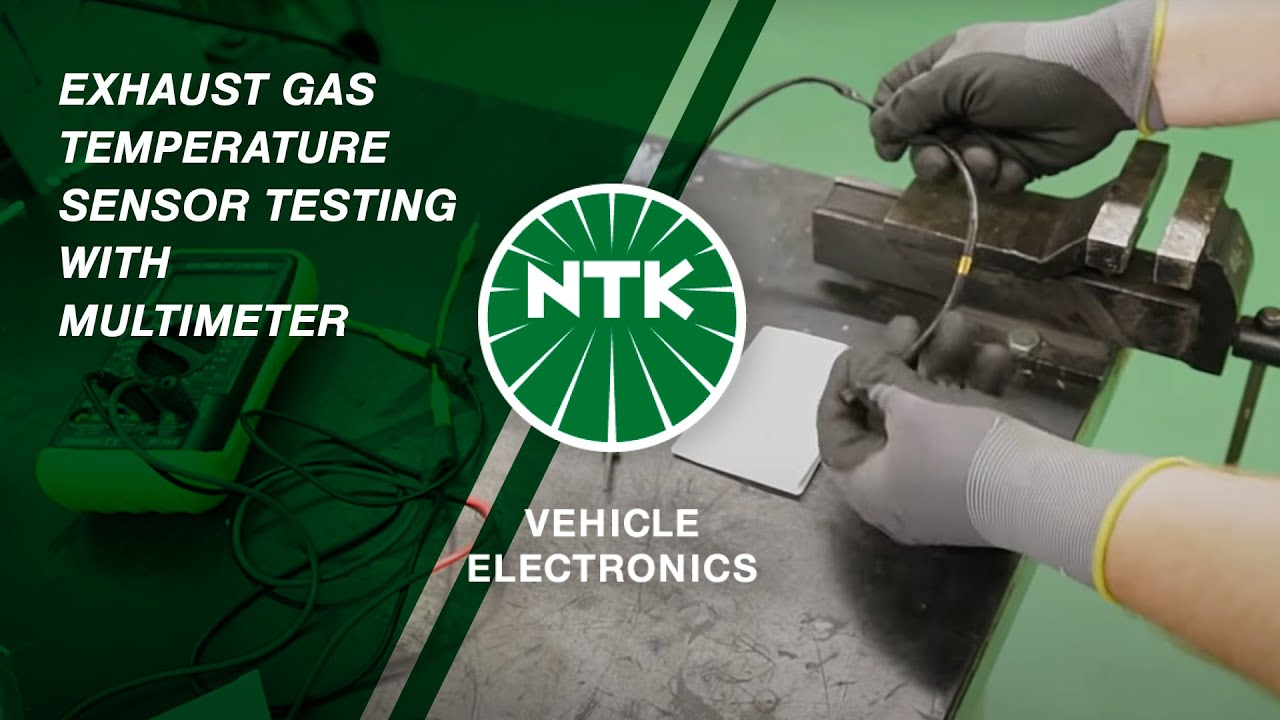 Exhaust Gas Temperature Sensor testing with Multimeter