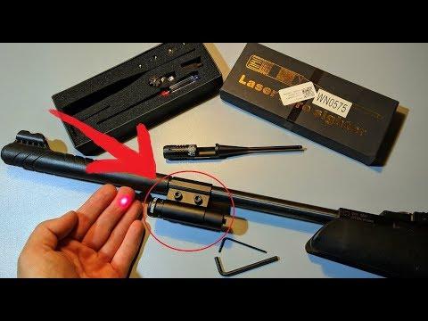 Лазерный целеуказатель для пневматики своими руками
