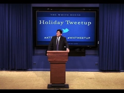 Holiday Tweetup at the White House: Part 2