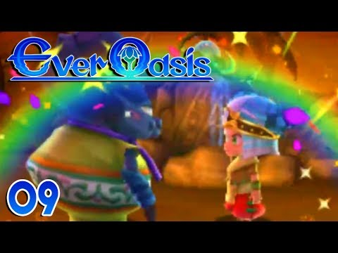 Ever Oasis Part 9 LEVI JOINS! YES!  Gameplay Walkthrough