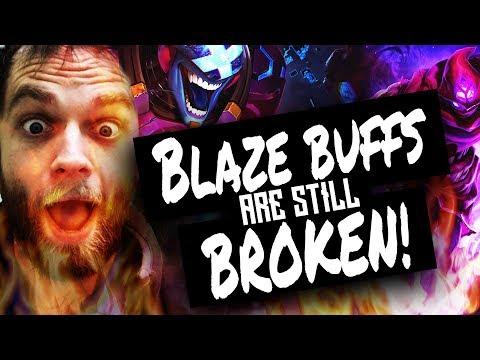 Blazing Brand New OP Buff - Diamond Gameplay vs Malz - Season 8.1 (sorry recorder failed at end)