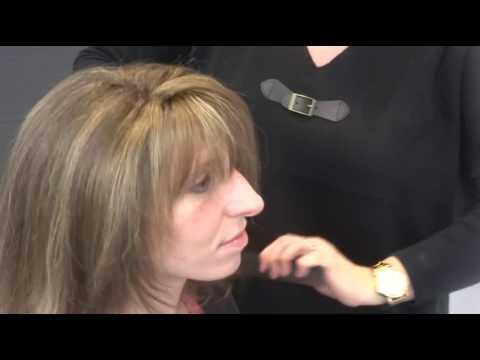 Pose prothèse capillaire femme