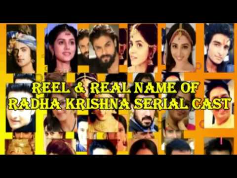 Real Name Of Radha Krishna Serial Cast - राधाकृष्ण - Serial On Star भारत Cast Actors Real Name