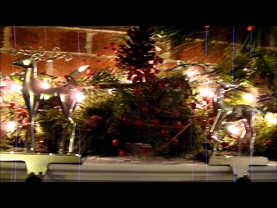 budget christmas mantle deck the halls on a dime part 1 youtube - Christmas Decorating On A Dime