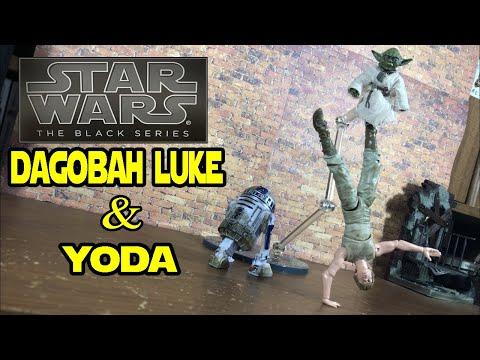 Star Wars Black Series 40th Anniversary LUKE SKYWALKER /& YODA JEDI TRAINING D4