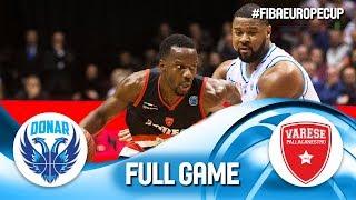 Donar Groningen v Pallacanestro Varese - Full Game - FIBA Europe Cup 2019