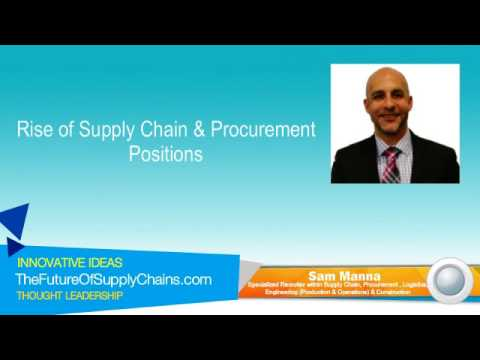 Rise of Supply Chain & Procurement Positions