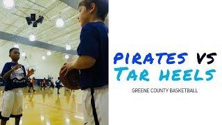 🏀 Pirates vs Tar Heels   Game 2 Highlights   Greene County Basketball