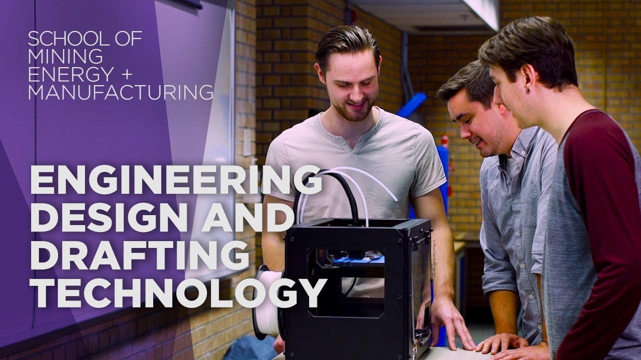 Engineering Design And Drafting Technology Diploma Program Youtube