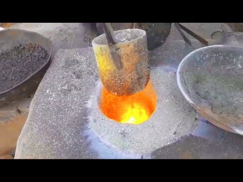 How Pulleys are Made. DIY Pulley Casting Process Using Sand Mold