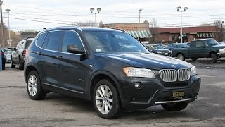 2013 BMW X3 xDrive 28i Review and Test Drive