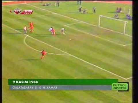 Galatasaray - N. Xamax 5-0 (Orijinal TRT anlatımı)