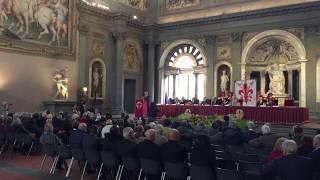 FIRENZE - Sclerosi Multipla, omaggio del Tenore Marco Voleri a evento AISM ANCRI - AGIPRESS
