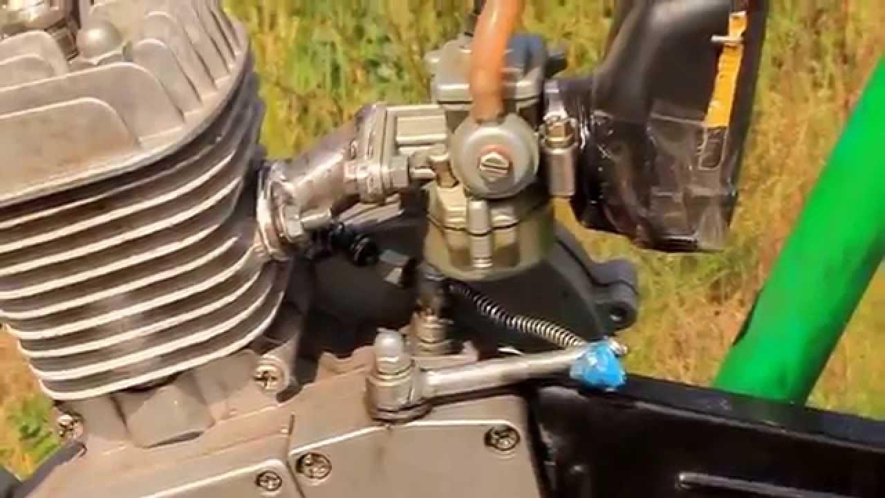 МотоВелосипед F80,с карбюратором к60в(без иглы регулировки топлива .