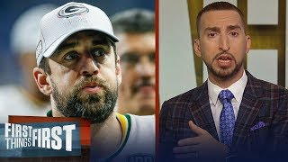 Nick Wright defends Aaron Rodgers after disputing feud with Mike McCarthy   NFL   FIRST THINGS FIRST