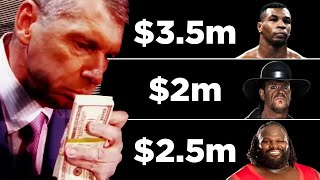 10 WWE Superstars Vince McMahon Gave HUGE Deals