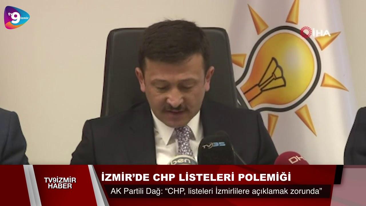 İZMİR'DE CHP LİSTELERİ POLEMİĞİ