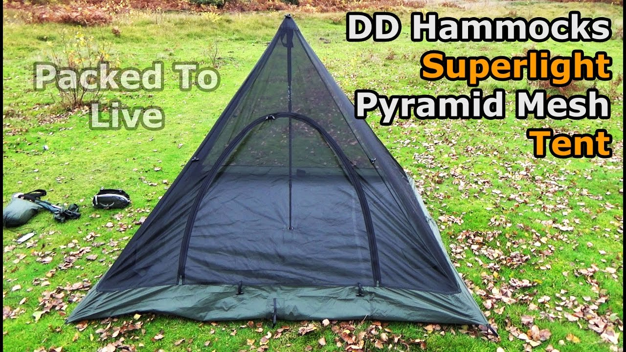 sc 1 st  YouTube & DD Superlight Pyramid Mesh Tent - YouTube