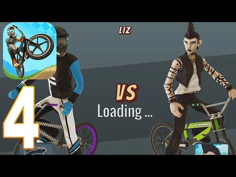 mad-skills-bmx-2---racing-game-gameplay-walkthrough-part-4--desert-(ios,-android)