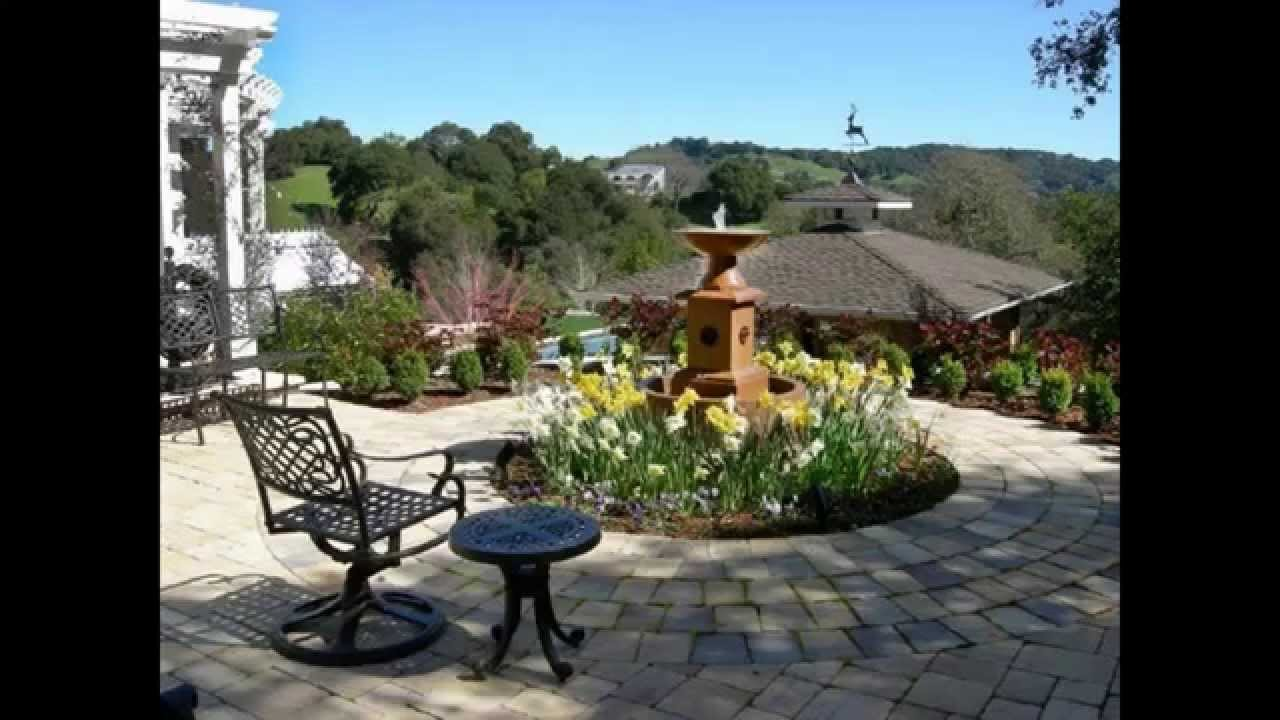 Tuscan garden decorations ideas - Home Art Design Decorations - YouTube