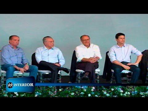 Presidente Michel Temer visita São José do Rio Preto