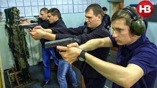 Тренировка новой патрульной службы Киева(В июне две тысячи новых патрульных, которых отобрали из 33 тысяч желающих, выйдут на улицы Киева, заменив..., 2015-04-20T14:11:54.000Z)