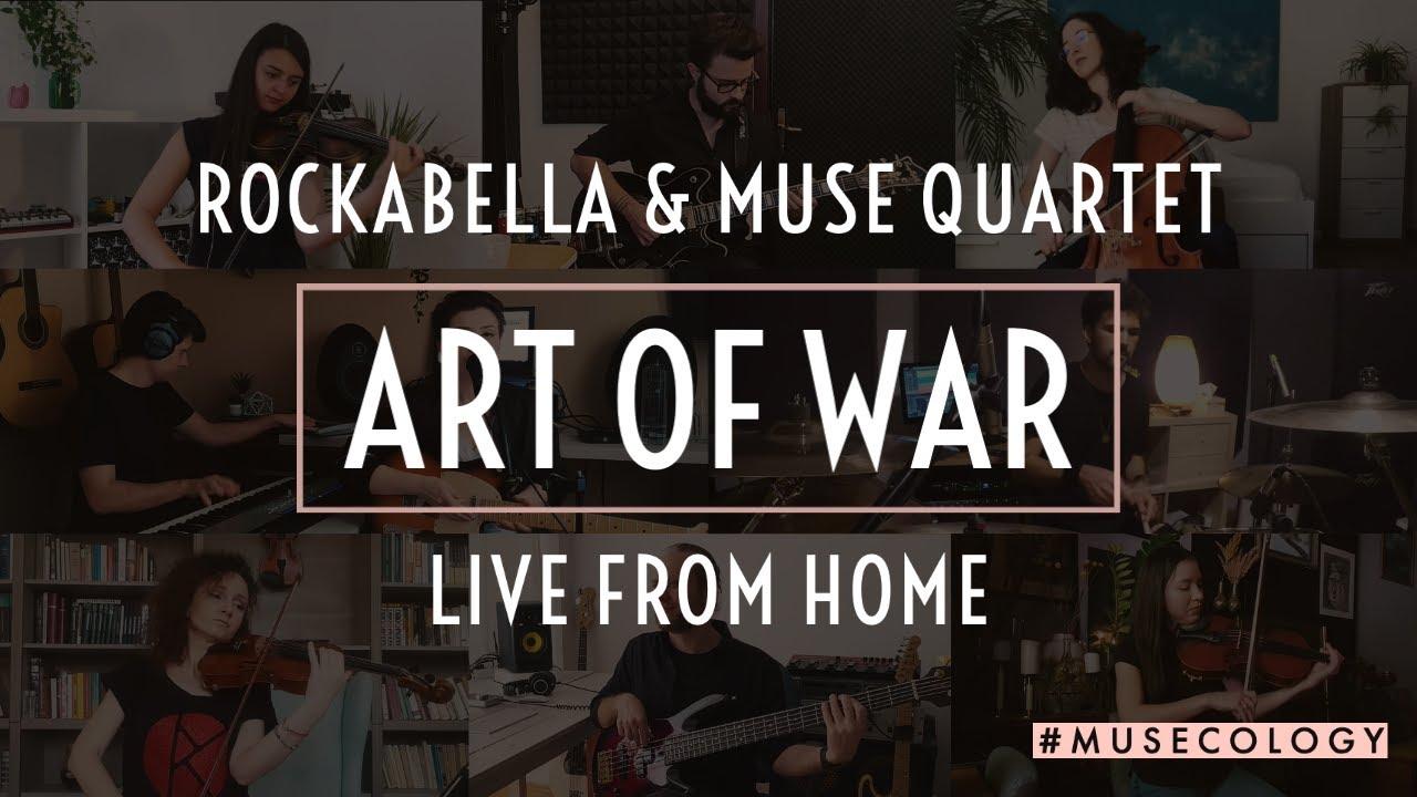 Rockabella x Muse Quartet - Art of War [LIVE from Home]