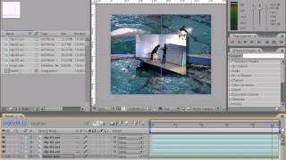 Копирование свойств слоя в Adobe After Effects