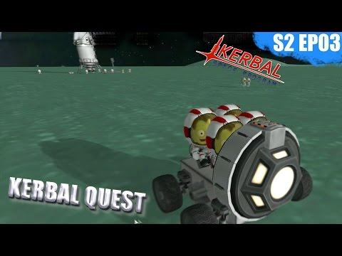 Kerbal Space Program - MINMUS ROVER - Kerbal Quest S2 - Part 03
