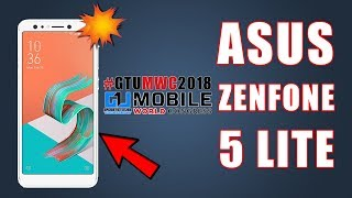 Asus Zenfone 5 Lite 2018 Review, Comparison, India Launch Date, Expected Price #GTUMWC2018