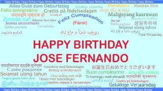 JoseFernando   Languages Idiomas - Happy Birthday