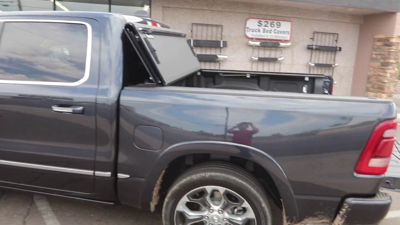 2019 Ram Truck Bed Cover Bakflip Mx4 Tonneau Cover Youtube