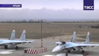Россия усиливает Крым истребителями(Прибытие 14 боевых самолетов в Крым означает завершение формирования самодостаточной авиационной группиро..., 2014-11-27T09:04:18.000Z)