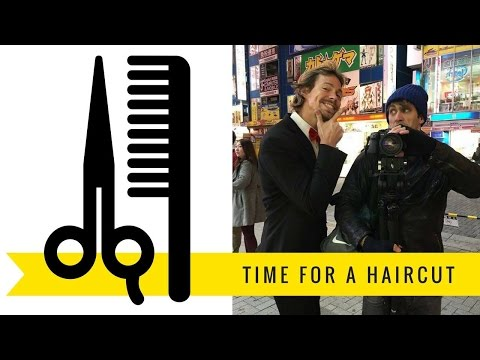 Afrodita Hair Salon in Tokyo, Japan – Haircut with runAway