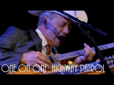 ONE ON ONE: Junior Brown - Highway Patrol August 11th, 2016 City Winery New York
