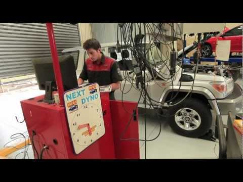 TOYOTA 76 SERIES 4X4 ACCESSORIES BUILD STEP 1D- CHEV'S UPGRADE DYNO RUN.mov