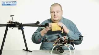 dJI Naza V2 Combo - полётный контроллер для мультикоптеров. Видео обзор