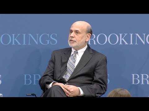 Ben Bernanke: Fed Did Right Thing in Financial Crisis of 2008