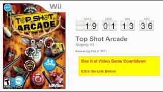 Top Shot Arcade Wii Countdown