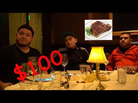 EATING $100 STEAKS WITH FUERZA REGIDA!